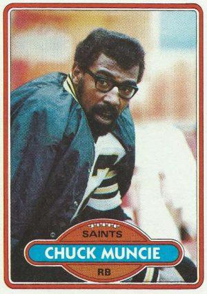 Chuck Muncie, New Orleans Saints in 1980