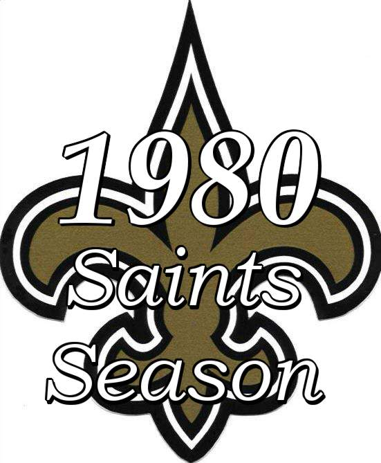 1980 New Orleans Saints NFL Season