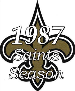 1987 New Orleans Saints NFL Season