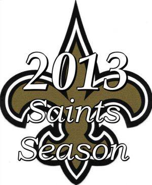 New Orleans Saints 2013 NFL Season