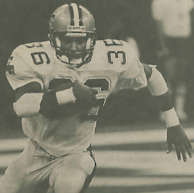 Reuben Mayes New Orleans Saints -1987
