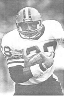 George Rodgers of the 1983 New Orleans Saints