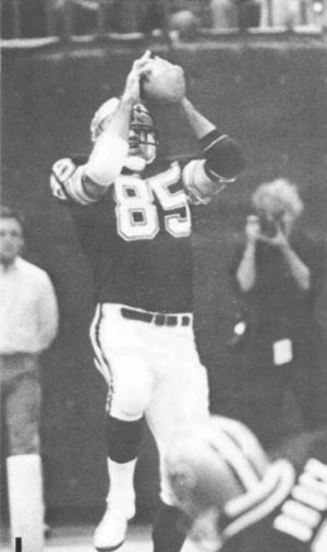 Hoby Brenner 1981 New Orleans Saints Tight End