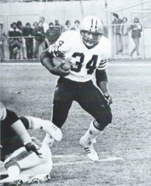 Nw Orleans Saints fullback Tony Galbreath in 1979