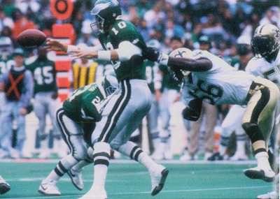 1991 New Orleans Saints All-Pro Linebacker Pat Swilling