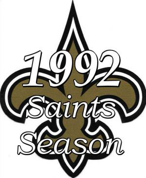 1992 New Orleans Saints NFL Season