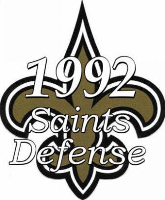 1992 New Orleans Saints Defense