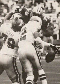 Frank Warren 1992 New Orleans Saints