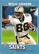 Willie Jackson, New Orleans Saints Wide Receiver 2001-2002