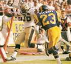 Reuben Mayes, Saints Runningback, 1986-1990