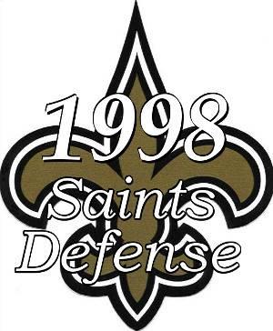 1998 New Orleans Saints Defense Icon