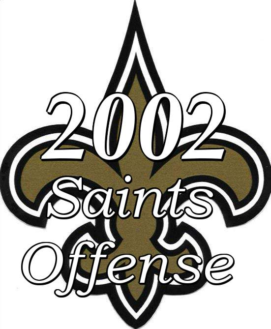 2002 New Orleans Saints Offense
