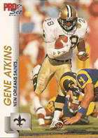 Gene Atkins, New Orleans Saints