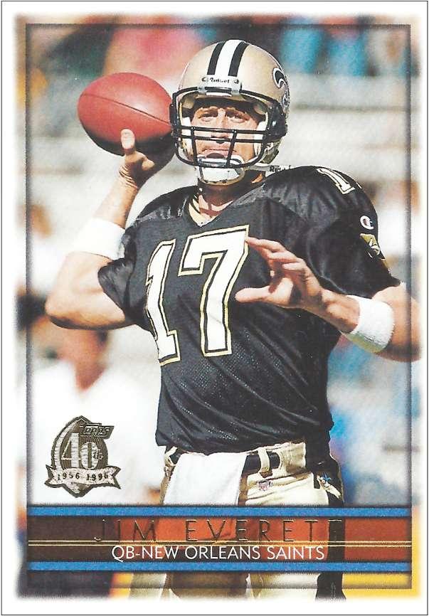 Jim Everett 1996 Topps Card