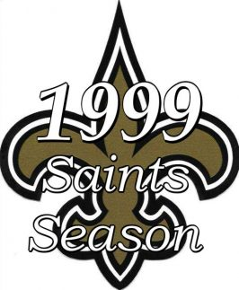 1999 New Orleans Saints NFL Season