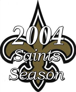 2004 New Orleans Saints Season