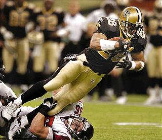 Deuce McAllister, 2003 New Orleans Saints