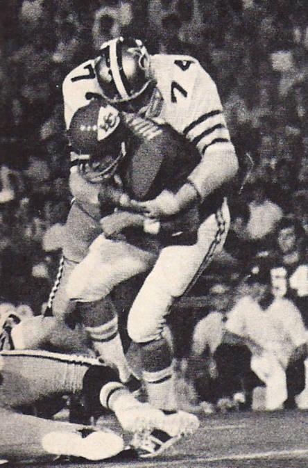 Rookie Defensive Tackle Doug Moors New Orleans Saints 1971