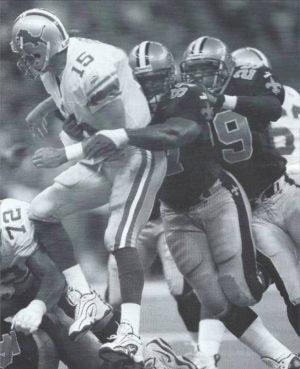 La Roi Glover and Sammy Knight 2000 New Orleans Saints
