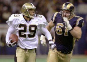 Sammy Knight 2000 New Orleans Saints.