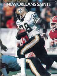 1984 New Orleans Saints Yearboo