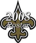 New Orleans Saints 2008 NFL Season Team Roster