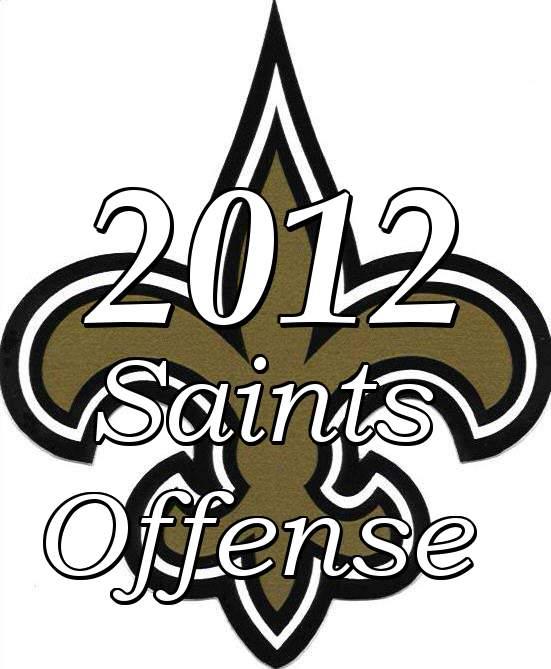 2012 New Orleans Saints Offense