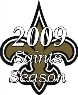2009 New Orleans Saints Super Bowl Season