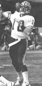 Dave Wilson of the New orleans Saints