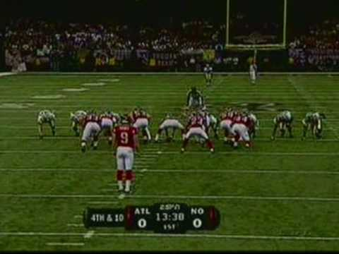 The Saints Return to the Dome in 2006