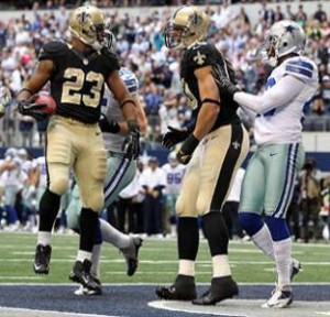 Top 10 New Orleans Saints Running Back Pierre Thomas