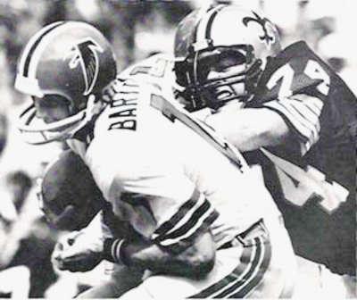 Long time New Orleans Saints Defensive lineman Derland Moore