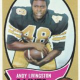 Andy Livingston 1970 Topps Trading Card