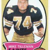 Mike Tillmen 1970 Topps Card