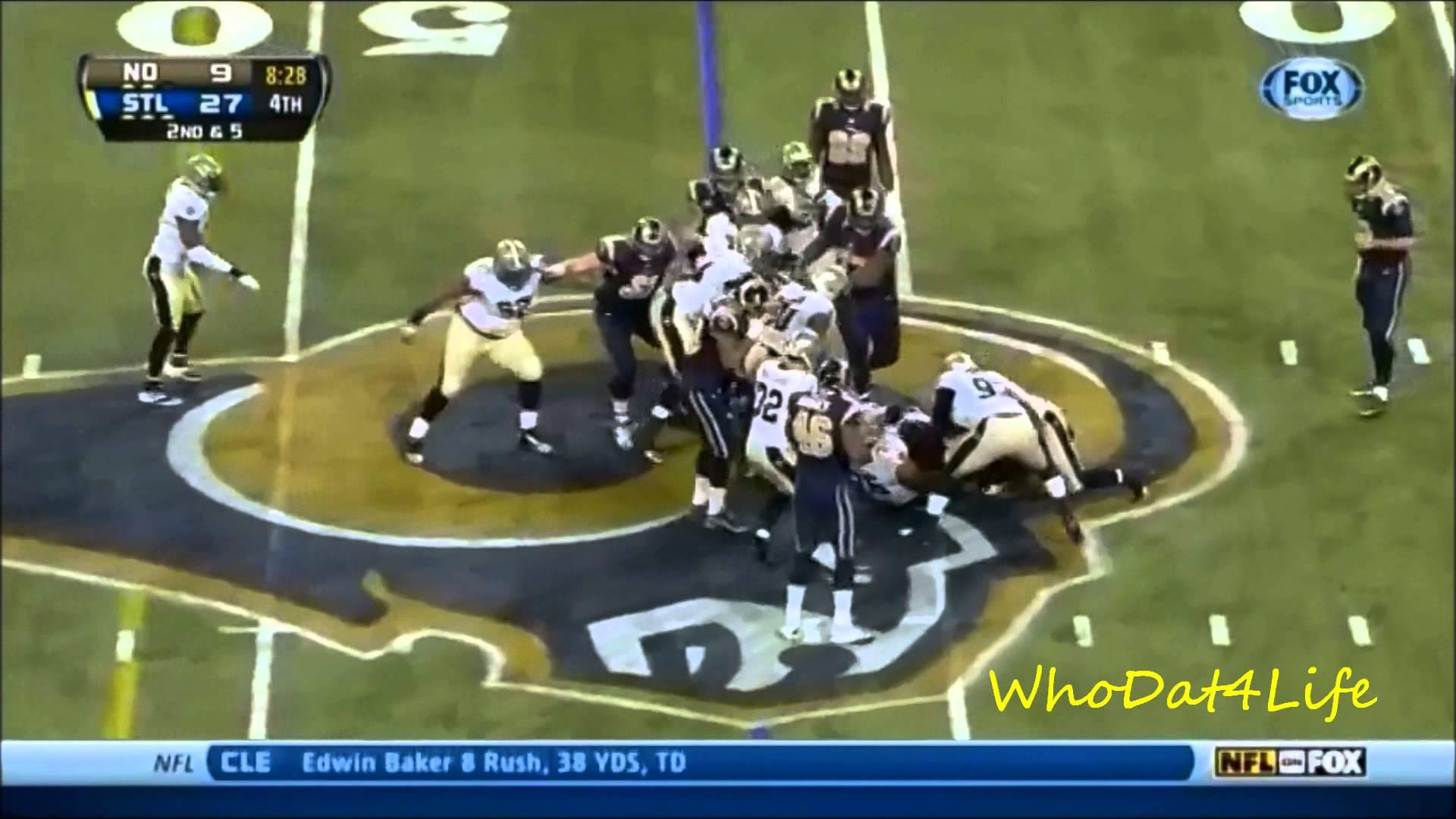 New Orleans Saints 2013 Defense Video