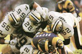 Saints Defense Stops Rams-1988