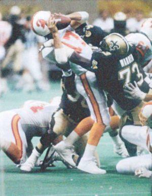Frank Warren NO Saints Defense 1991