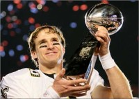 Drew Brees First New Orleans Saints Quarterback to Pass For 4000 Yards