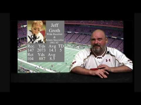 Saints History 101 - Receiver Jeff Groth