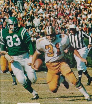 Jim Taylor 1967 New Orleans Saints