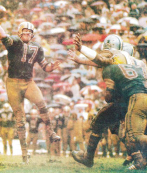 Billy Kilmer in 1967 New Orleans Saints