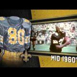New Orleans Saints Uniform and Uniform Color History Video