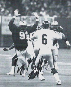 Robert Pig Goff New Orleans Saints 1990-1995