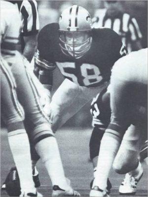 Joe Federspiel Saints Middle Linebacker – 1979