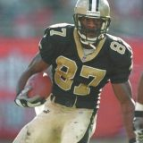 Joe Horn New Orleans Saints Receiver in 2000