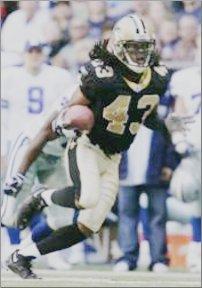 Mike McKenzie – New Orleans Saints 2004-2009