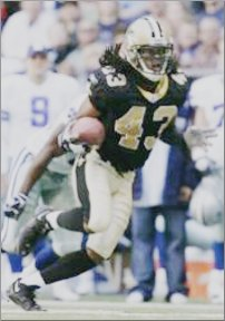 Saints Cornerback Mike McKenzie