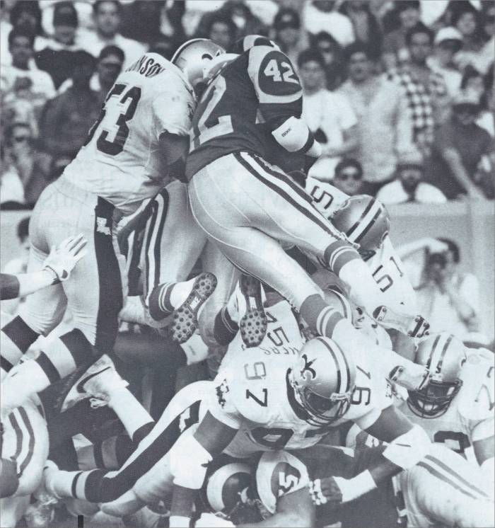 1988 New Orleans Saints Defense Goal Line Stand against the Rams