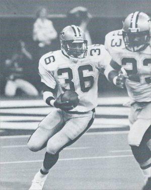 Reuben Mayes and Buford Jordan | New Orleans Saints 1986