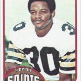 Ernie Jackson 1976 New Orleans Saints Topps Card